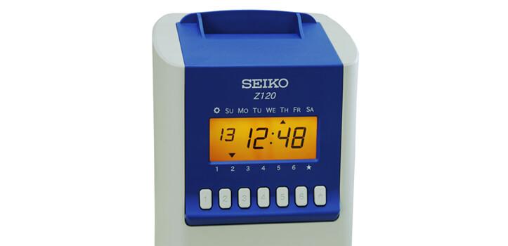 Reloj de fichar para tu empresa - Modelo SEIKO 120