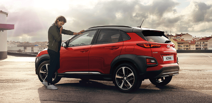 Renting de Hyundai Kona TGDI