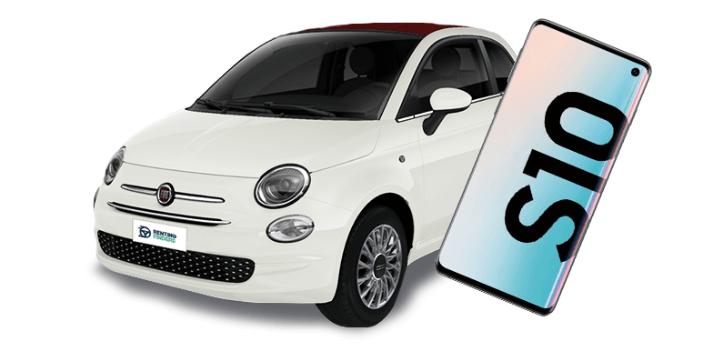 Renting de Fiat 500 1.2 Híbrido GLP