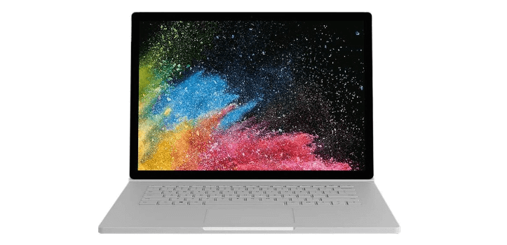 Renting de Microsoft Surface Book 2