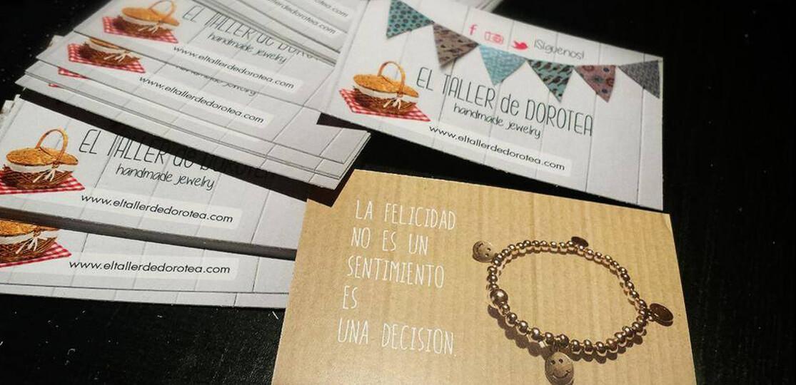 Tarjetas de visita, flyers y productos gráficos para tu negocio