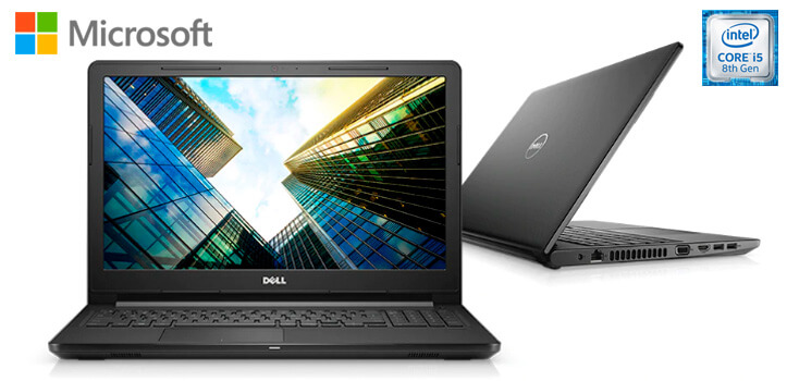 Portátil Dell Vostro 3578 con Windows 10 Pro y Office 2019