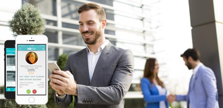 Plataforma de reclutamiento personal para empleos temporales
