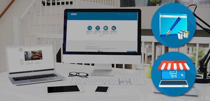 Diseño web o de tienda online para cualquier dispositivo