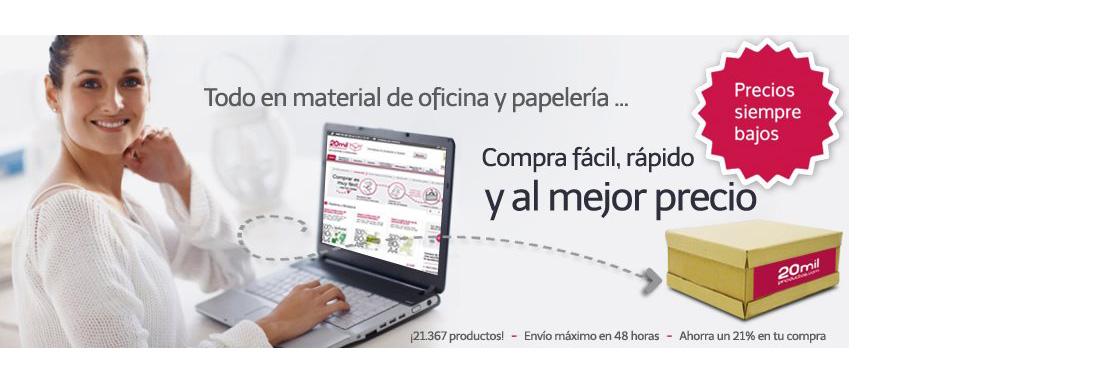 Material de oficina online con 20milproductos descuento 4 for Material de oficina online