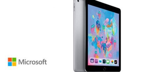 Apple iPad 2018 ¡con Microsoft Office 365 Business Premium incluido!
