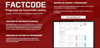 FACTCODE software de facturación online para PYMEs