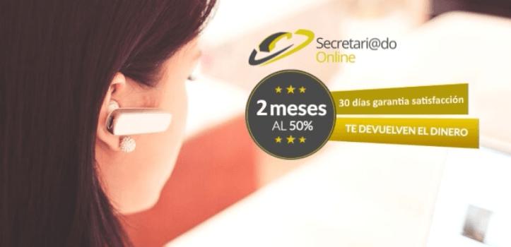 Trabaja con tranquilidad, contrata tu secretaria virtual premium
