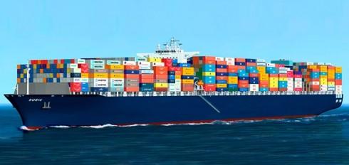 Transporte marítimo de mercancías internacional
