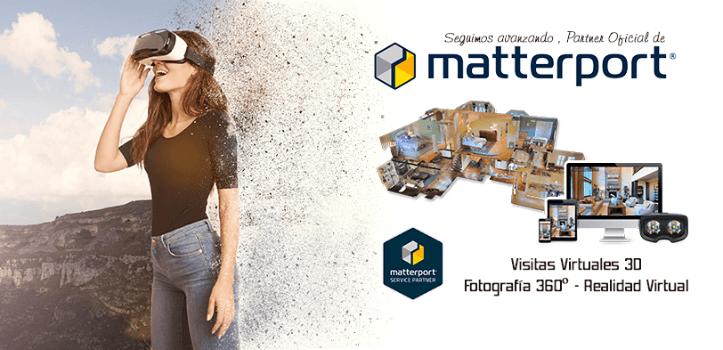 Expanda su negocio con los Tours Virtuales 360º 4K de Matterport