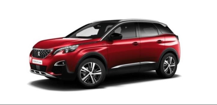 Renting de Peugeot 3008 BlueHDI