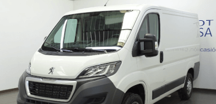 Renting de Peugeot Boxer Furgón