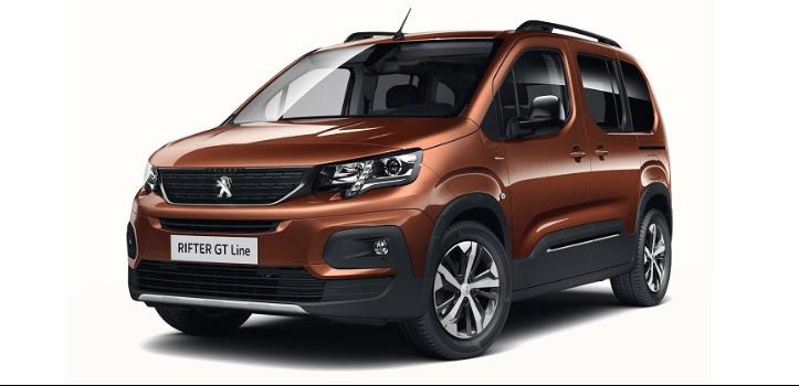 Renting de Peugeot Rifter