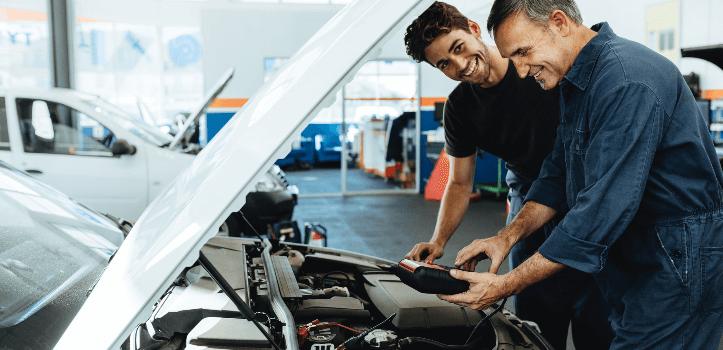 Servicio de garantías de averías mecánicas