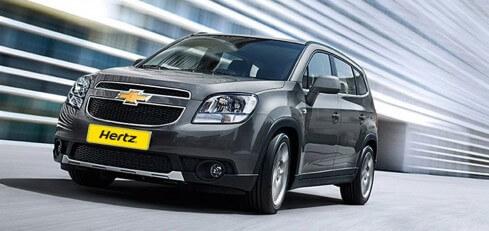 Alquiler de vehículos con Hertz
