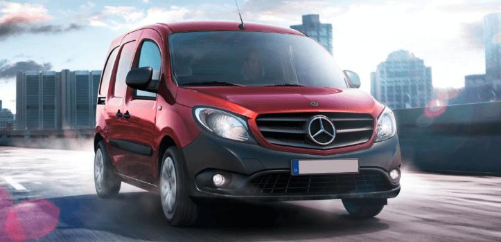 Renting de Mercedez-Benz Citan Furgón 108 CDI