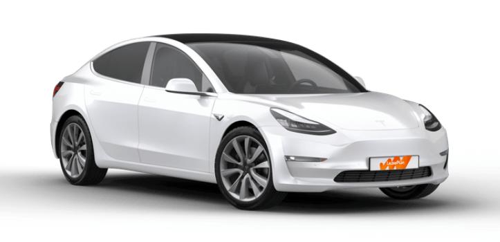 Renting de Tesla Model 3
