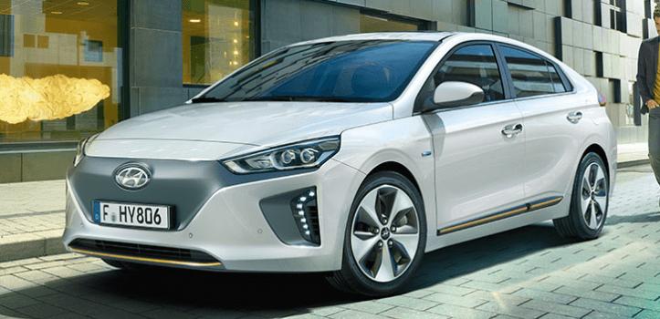 Renting de Hyundai IONIQ 1.6 GDI HEV Klass Nav