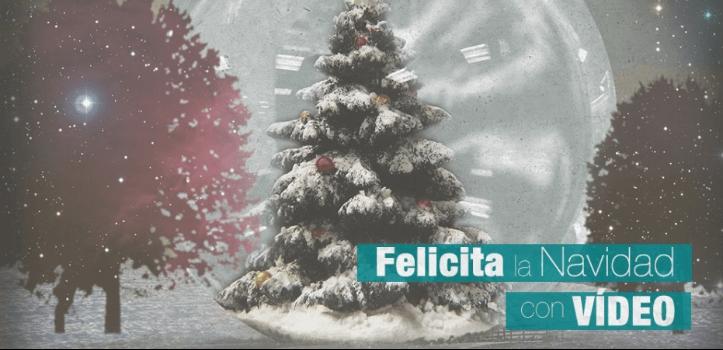 Felicita la Navidad con un vídeo personalizado