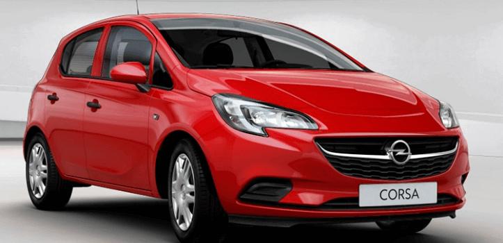 Renting de Opel Corsa 1.4 GLP