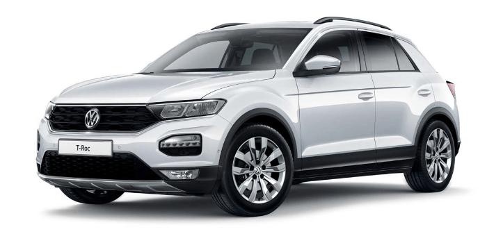 Renting de Volkswagen T-Roc Advance 1.0 TSI