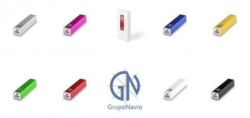 Cargadores powerbank personalizados con el logo de tu empresa