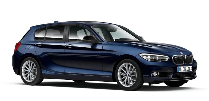 Renting de BMW Serie 1 118i