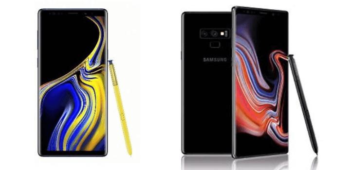 Renting de Samsung Galaxy Note9