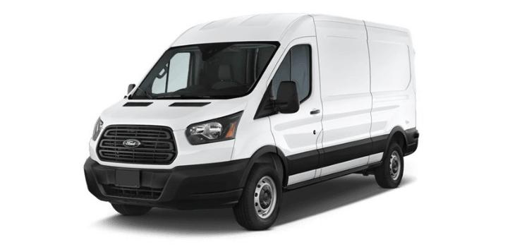 Renting de Ford Transit Van FT350