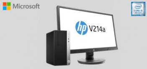 HP PC ProDesk 400 G5 + Monitor HP V214a 20,7 pulgadas