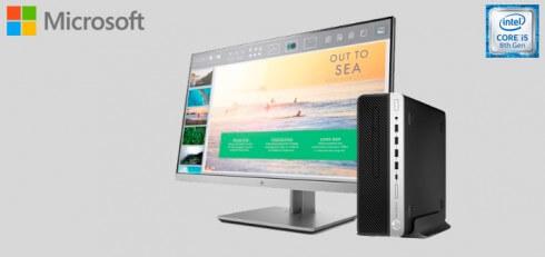 HP PC ProDesk 600 G4 + Monitor HP EliteDisplay 23 pulgadas